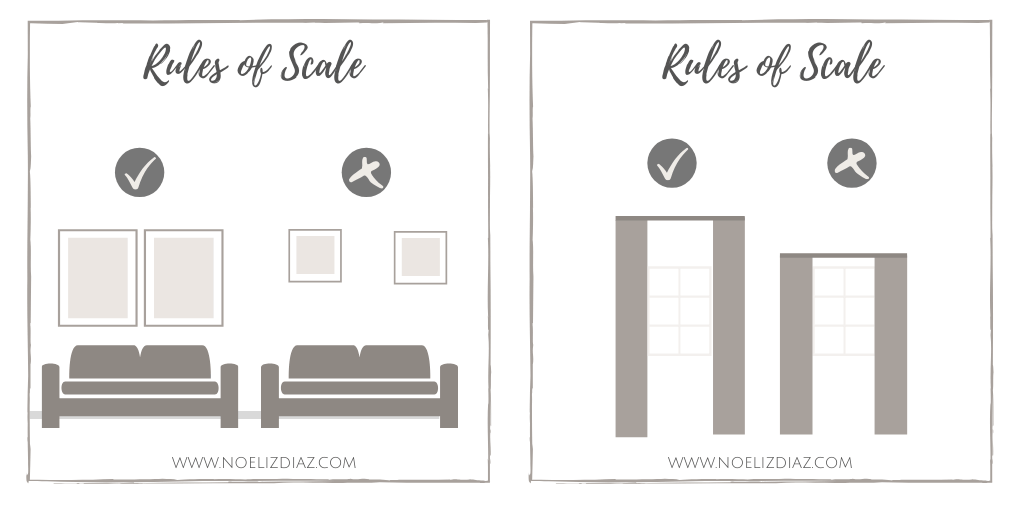Rules of Scale Interior Design Bedroom